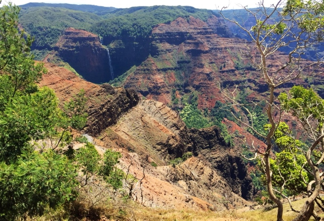 Waimea canyon, hiking in Hawaii kuaui travel