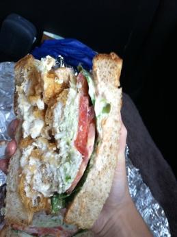 bermuda travel food sandwich fish