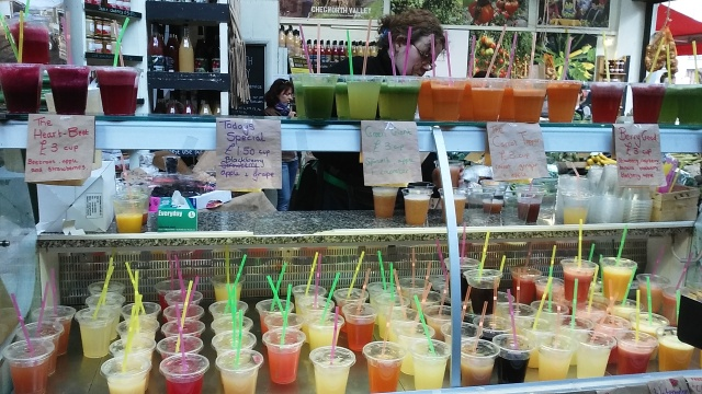 borough market London food travel