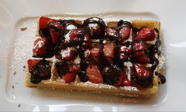 belgian waffle brussels Belgium travel in europe