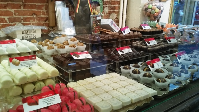 belgian chocolate travel in europe