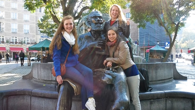 study abroad travel in Brussels Belgium europe