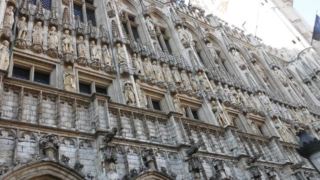 travel in Brussels Belgium europe architecture