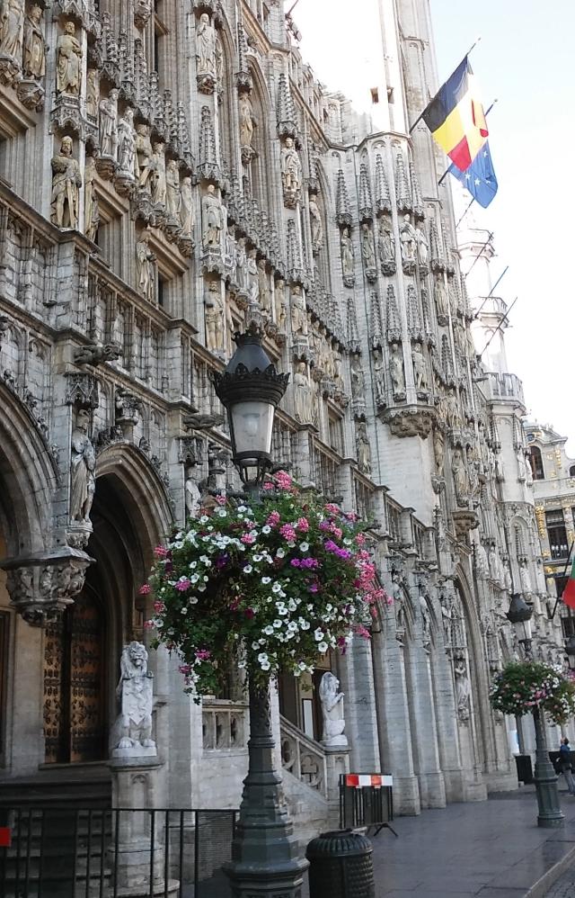 budget travel in Brussels Belgium europe