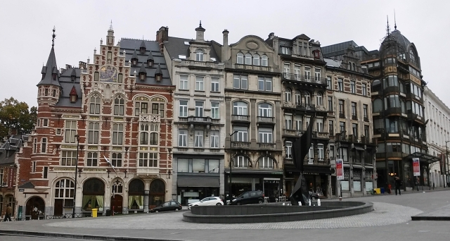 budget travel in Brussels Belgium
