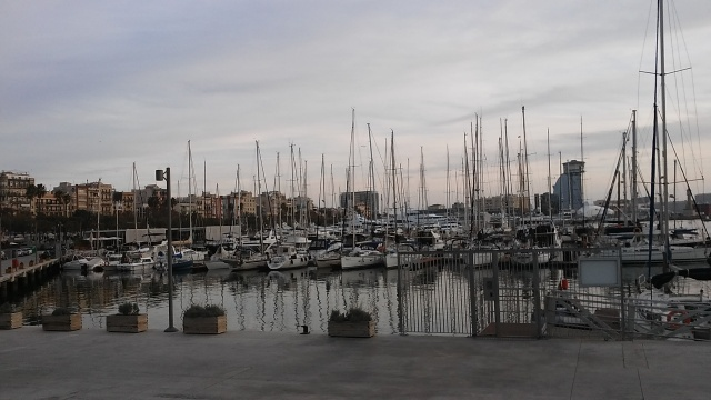 Barcelona travel ocean marina Spain