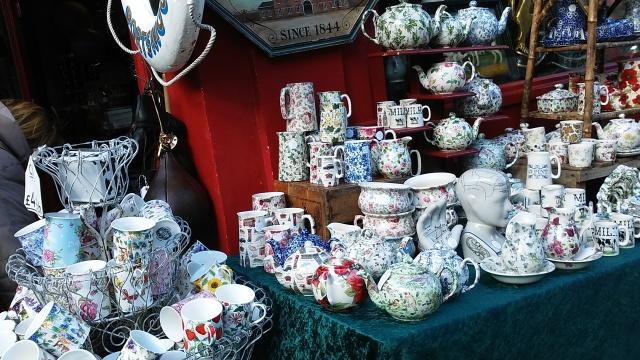 street market tea London