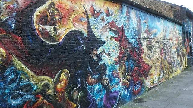 brick lane London art