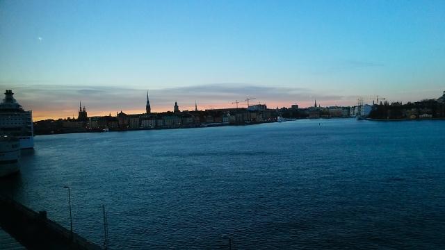 sunset stockholm Sweden