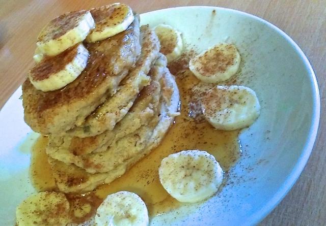 healthy vegan pancake recipe