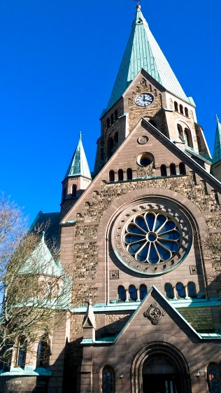 church Stockholm Sweden
