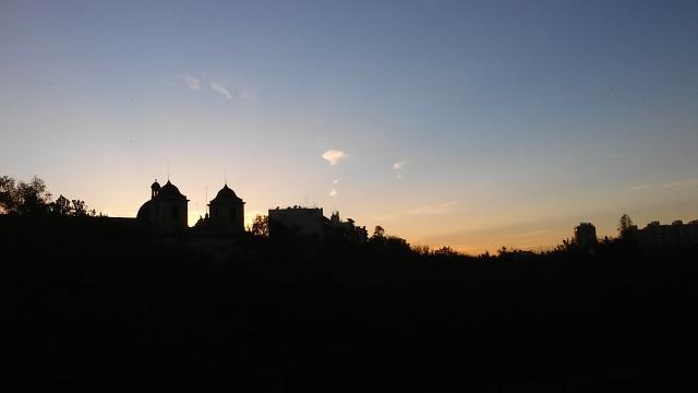 spain travel sunset
