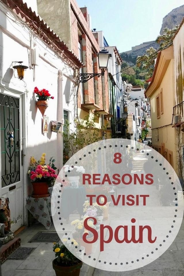 8REASONSTO VISIT SPAIN