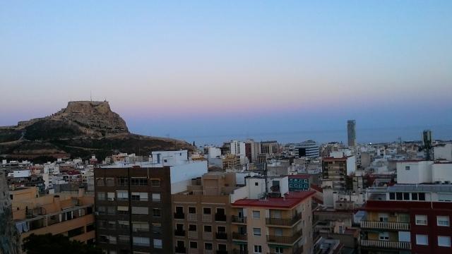alicante Spain sunset