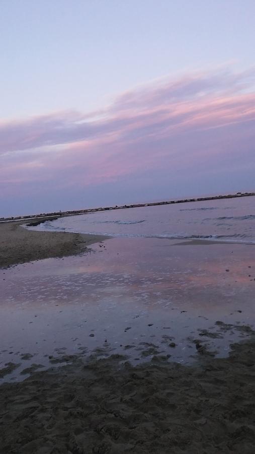 alicante Spain sunset ocean travel