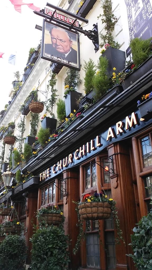 London travel pub life
