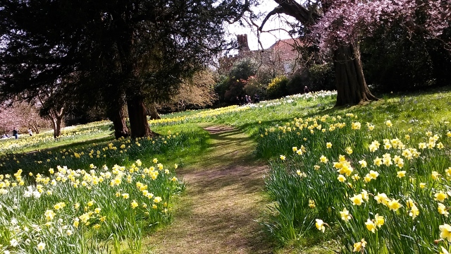 London travel garden