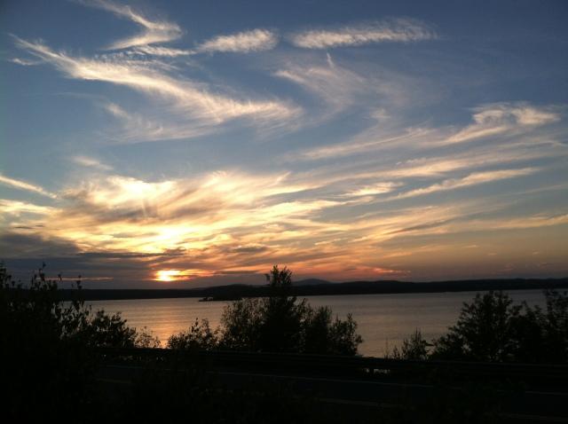 sunset nature beauty