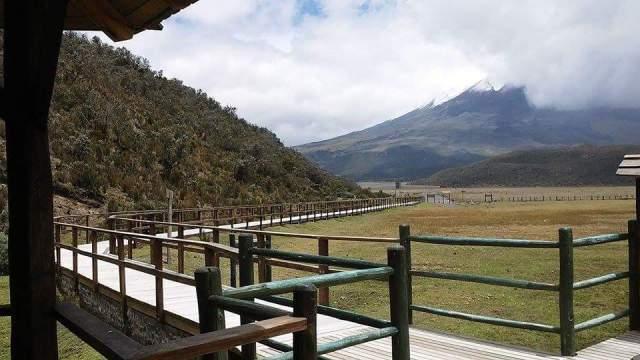 Ecuador, Quito, traveler Cotopaxi