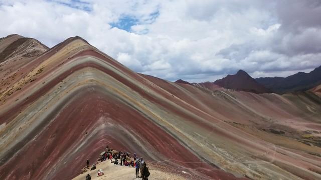 cusco peru rainbow mountain