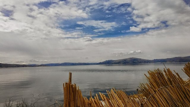 lake Titicaca Peru scenery travel