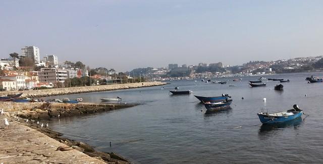 porto portugal boats ocean