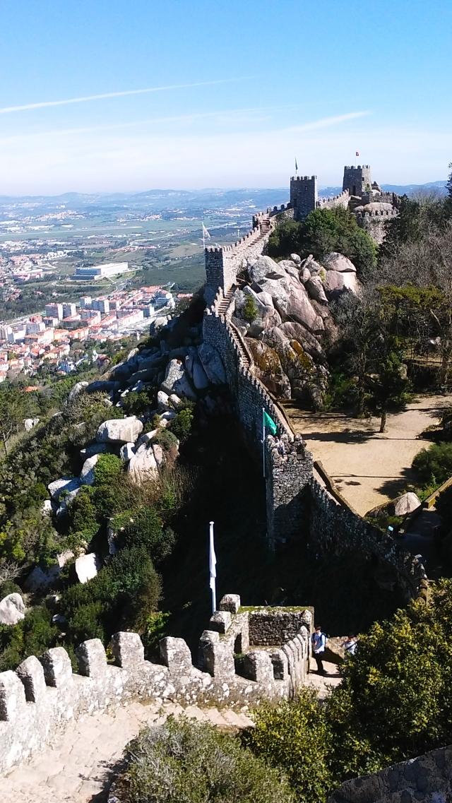 sintra portugal castle moorish travel