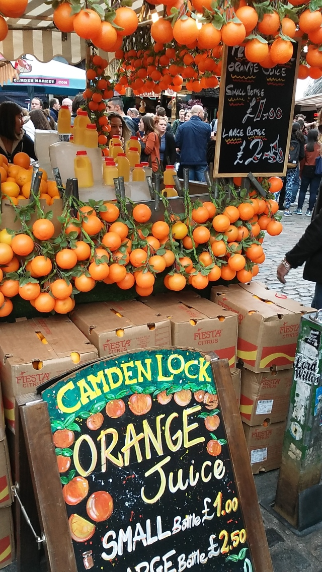 London travel tips, United Kingdom, budget travel in europe food market camden