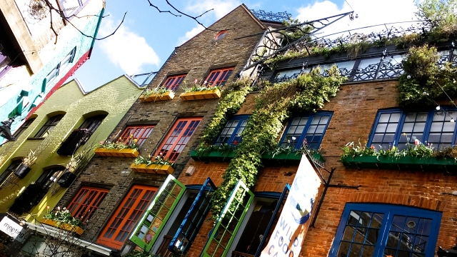 London travel tips, United Kingdom, budget travel in europe neals yard covent garden