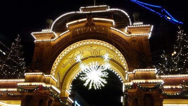 copenhagen denmark travel Christmas Tivoli