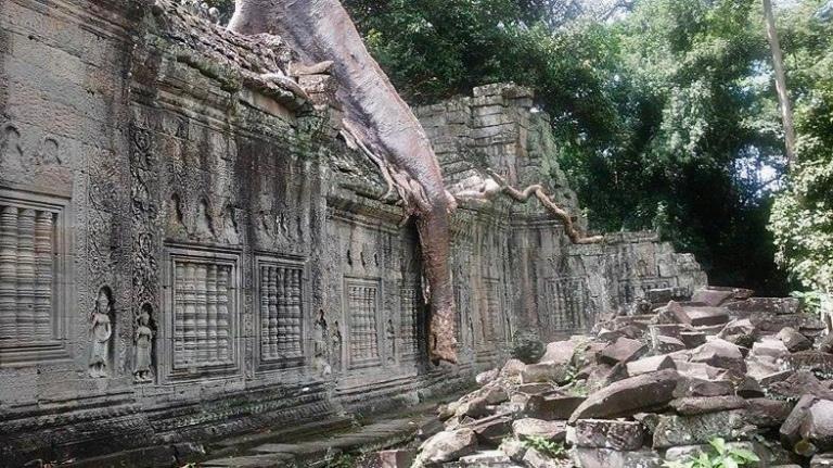 Preah Khan image cambodia