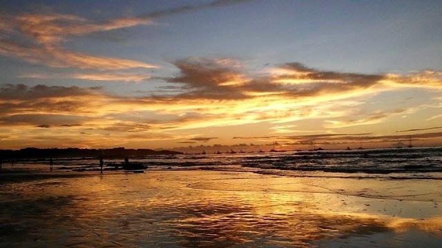 sunset Costa Rica travel