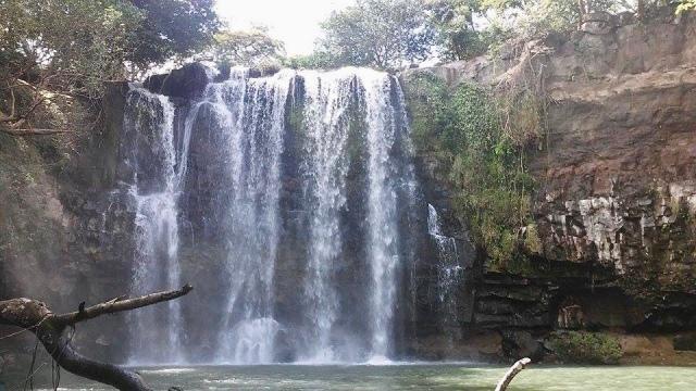 waterfall Costa Rica travel