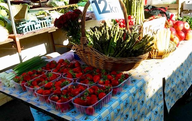 dolac market zagreb croatia