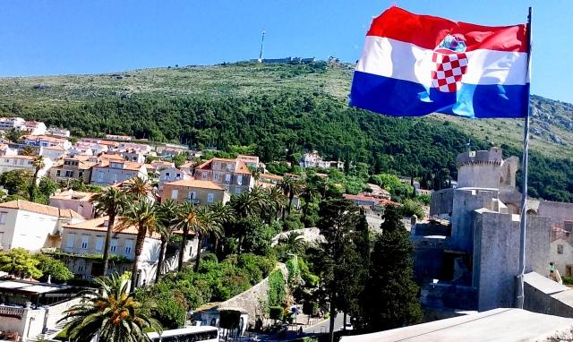 croatia flag travel