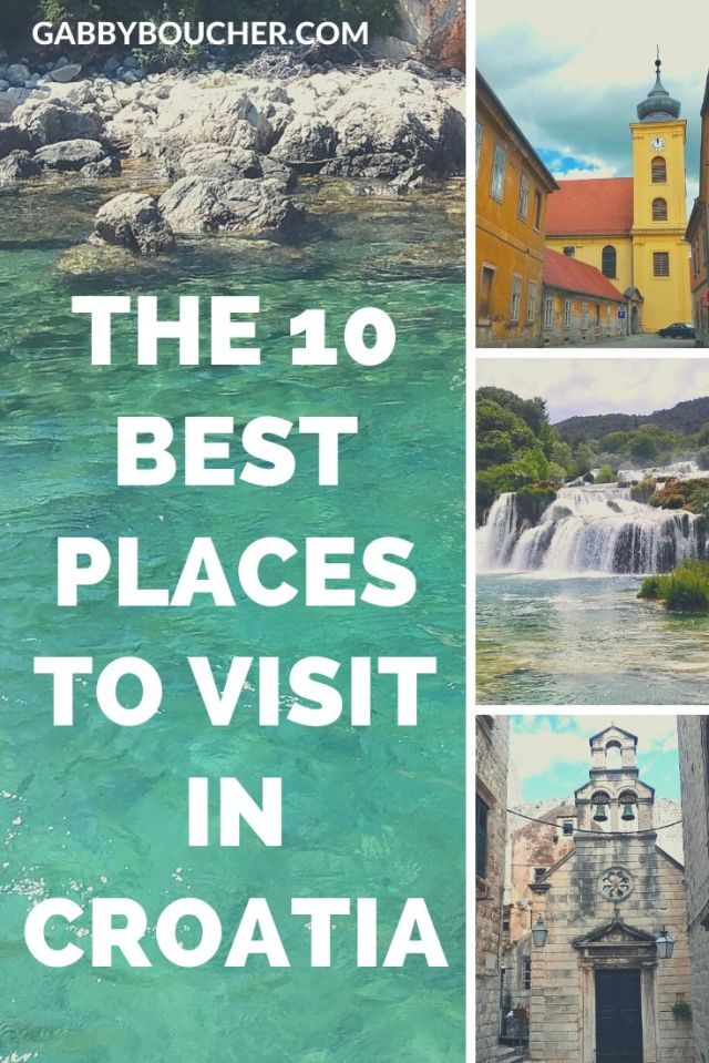 10 BEST PLACES TO VISIT IN CROATIA