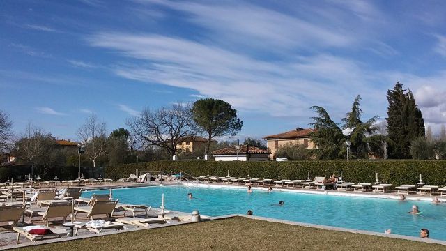 thermal springs Tuscany Italy