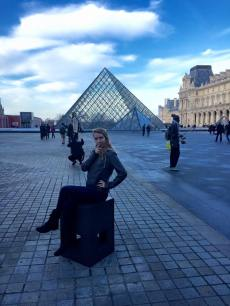 budget travel tips with gabby Boucher, Paris France Louvre museum europe