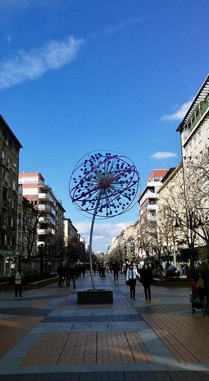 vitosha boulevard budget travel Bulgaria Sofia