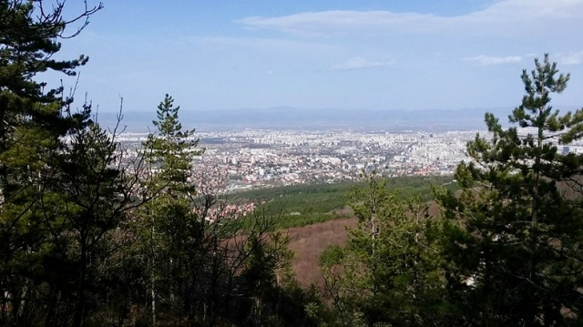 vitosha mountain Sofia Bulgaria travel