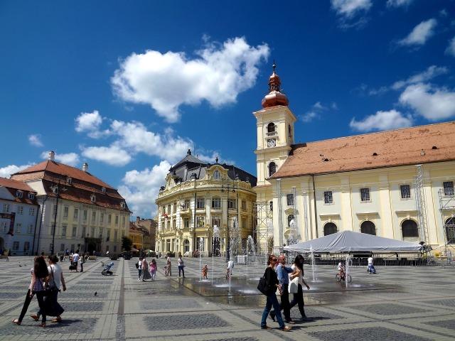Sibiu Romania square