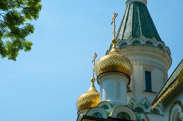 Sofia bulgaria Russian church