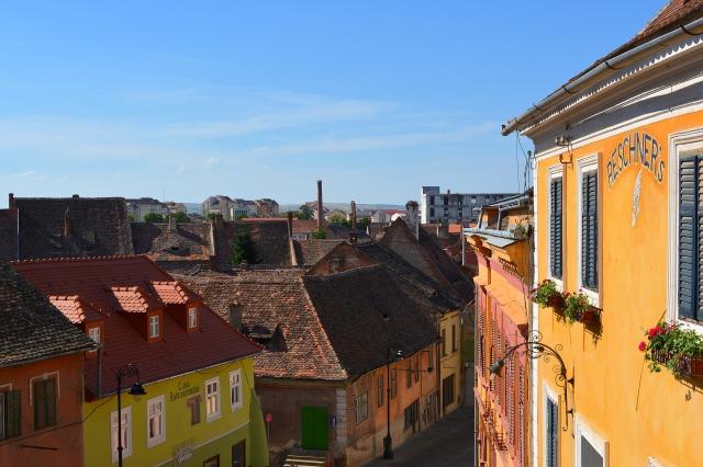 Sibiu Romania colors