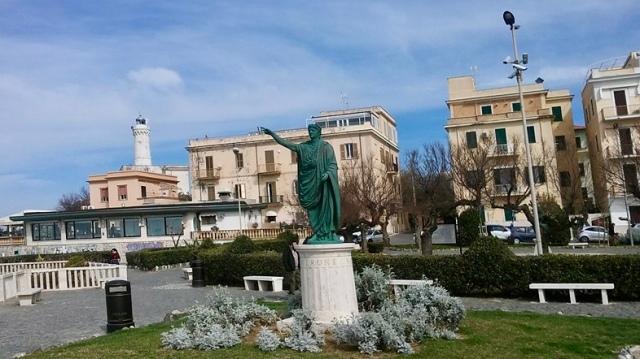 Anzio Italy small town