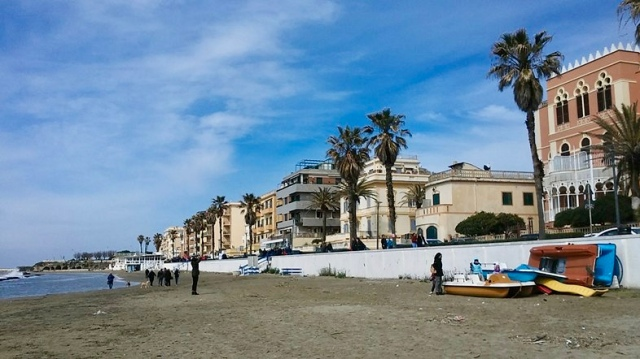 anzio beach Italy