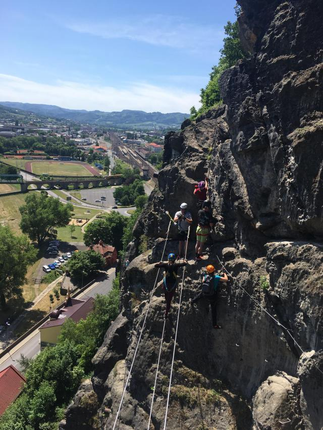 climbing adventure travel Czech republic europe