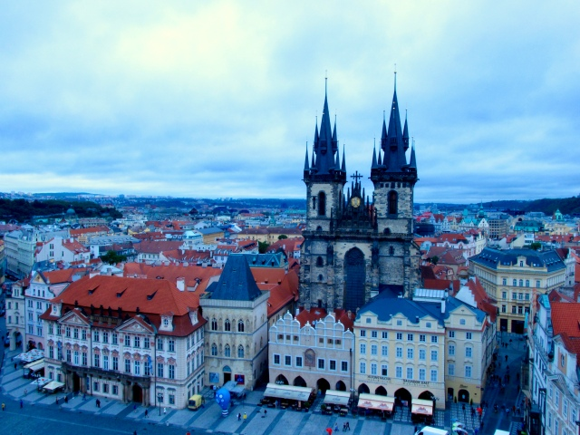 PRAGUE old town Czech Republic TRAVEL PHOTO