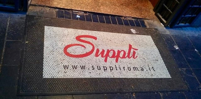 suppli Italian food Rome Italy
