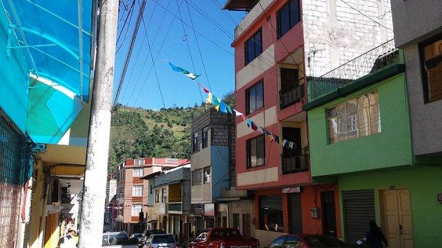 Banos Ecuador South America Travel Photo