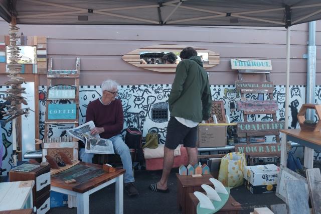 travel in Australia, coledale vintage market